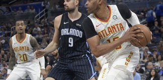 Hawks Beat Magic to End 10-game Skid with Young Still Out