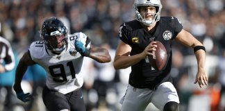 Jaguars Spoil Final Oakland Game with 20-16 Win over Raiders