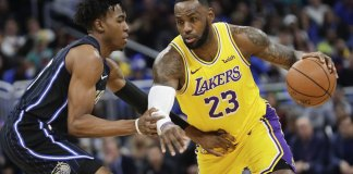 Labron James Leads Lakers Past Magic 96-87