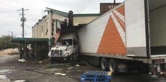 Semitrailer Inflicts Major Damage on Closed Florida Landmark