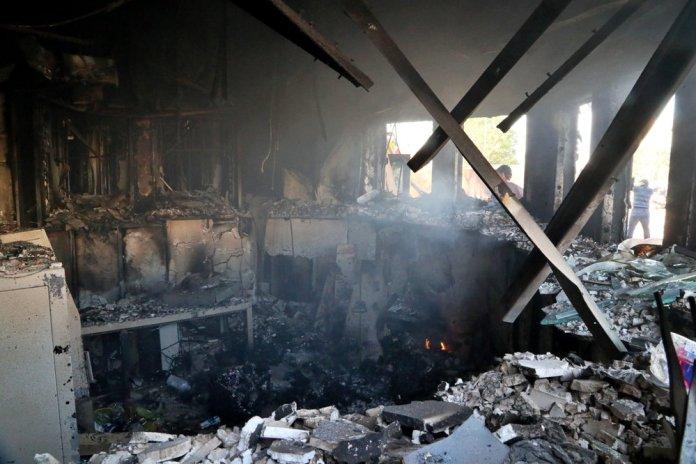 Militiamen Withdraw from US Embassy but Iraq Tensions Linger