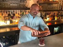 Hibiscus Margarita with Black Sea Salt by Mixologist Micah Hinde