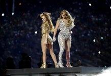 Lopez, Shakira in Joyful, Exuberant Halftime Show