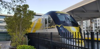 Coronavirus Halts Brightline Service in South Florida