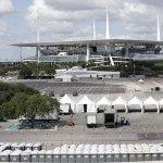 Hard Rock Stadium Turned Coronavirus Drive-thru Testing Site