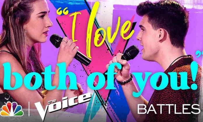 The Voice: Allegra Miles Wins Battle Round on Team Nick