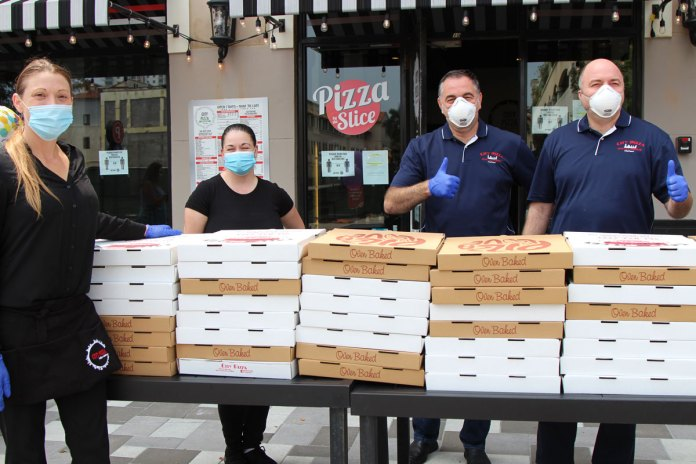 Free pizza by City Pizza Italian Cuisine