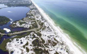 "Grayton Beach No. 1 in top-10 US list by ""Dr. Beach"""