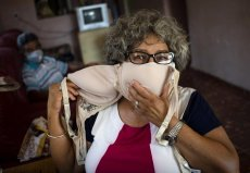 In Latin America, face masks become a form of expression