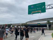 Hundreds march in West Palm Beach to protest police brutality