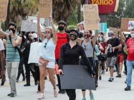 Protesters in West Palm Beach push for racial justice on Juneteenth