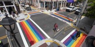 Rainbow crosswalks return to Key West permanently