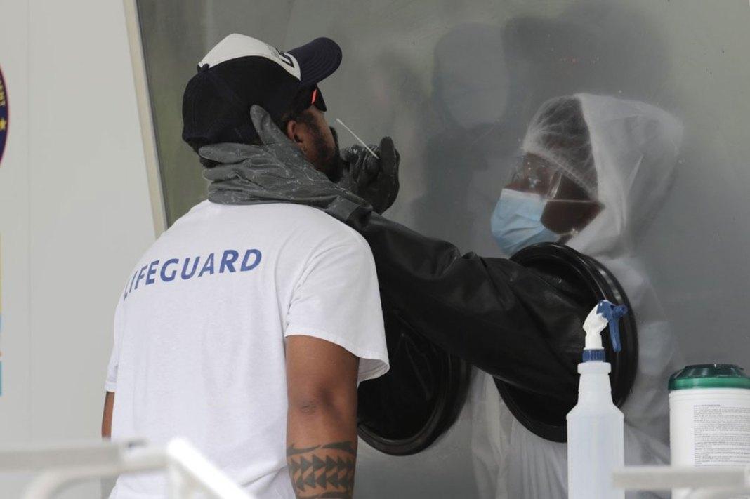 Florida hospitals seek more virus medication as cases rise