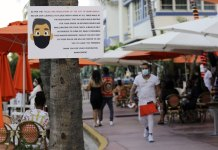 Florida overtakes NY State in coronavirus cases