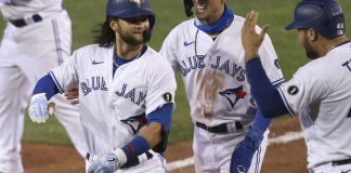 Bichette, Blue Jays hit 6 more HRs in Buffalo, bop Rays 12-4