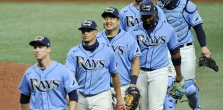 Fleming wins big league debut, Rays beat Blue Jays 5-4