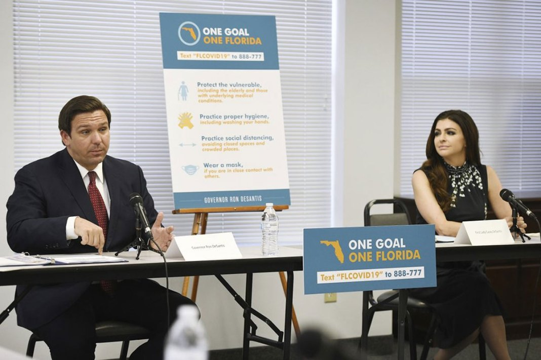 Gov. Ron DeSantis rescinds quarantine mandate for New York travelers