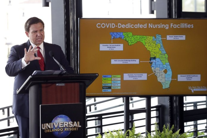 Florida's coronavirus spread appears to be waning