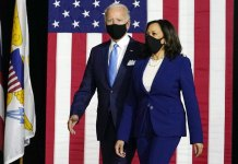 Joe Biden and Kamala Harris campaigned together for the first time