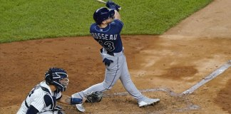 Brosseau gets payback as Rays beat Yankees again, 5-2