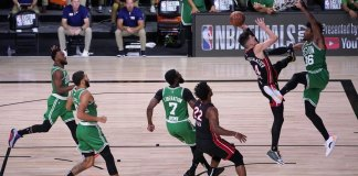 With a Herro, Heat top Celtics, move a game from NBA Finals