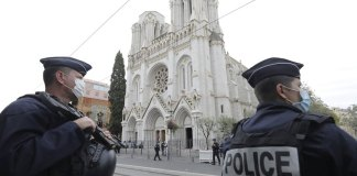 3 dead in church attack, plunging France into dual emergency