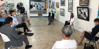 DNC Chairman visits Hispanic-owned small business in West Palm Beach