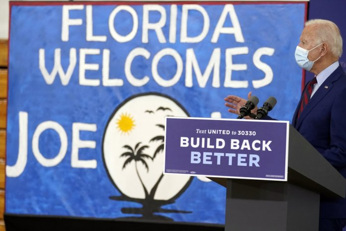Joe Biden made his second trip to Florida in a little over two weeks