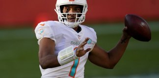 Denver hands Tagovailoa first loss with 20-13 win over Miami