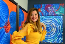 The colorful homeland of Laelanie Larach infuses her work