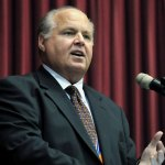 In Rush Limbaugh's home state, a flap over lowering flags