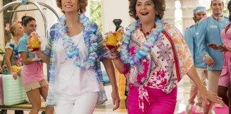 Kristen Wiig and Annie Mumolo go on a beach romp