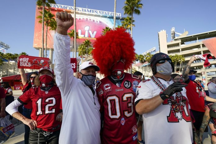 Super Bowl in Tampa creates 'craziness' outside, inside
