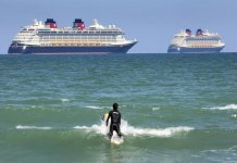 DeSantis threatens to sue federal government if cruise ships can't operate
