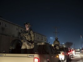 Biden takes a risk pulling troops from Afghanistan