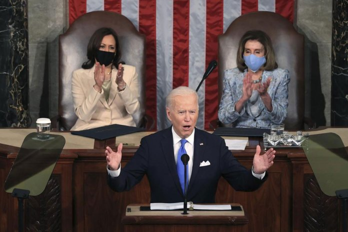 Biden to the nation and world: 'America is rising anew'