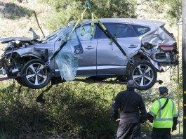 Tiger Woods was speeding before crashing SUV