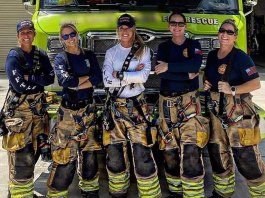 Women fighting fires in Florida: Colleagues' support crucial