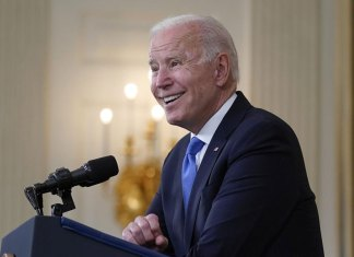 Biden approval buoyed by his pandemic response