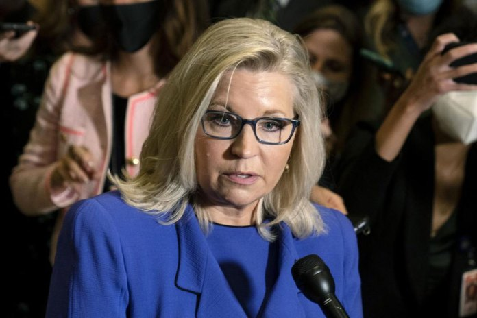 House GOP ousts Trump critic Liz Cheney from top post