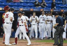 US qualifies for Olympic baseball; Todd Frazier HR, 4 hits