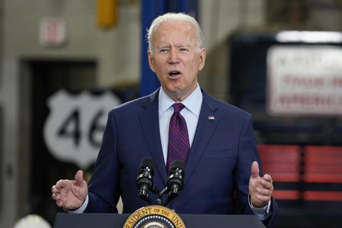 Biden speaks volumes in a whisper to make a point
