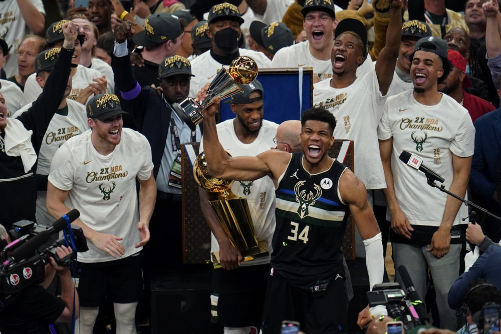 Bucks' 50-year wait ends with a title behind 50 from Giannis