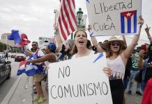 Cubans in Miami talk of boating to Cuba to back protests