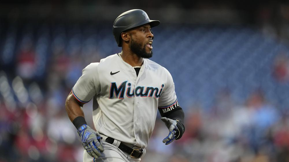 Starling Marte traded by Marlins to A's for LHP Luzardo
