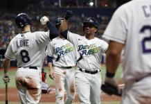 Rays move into 1st in AL East with 9-5 victory over Red Sox