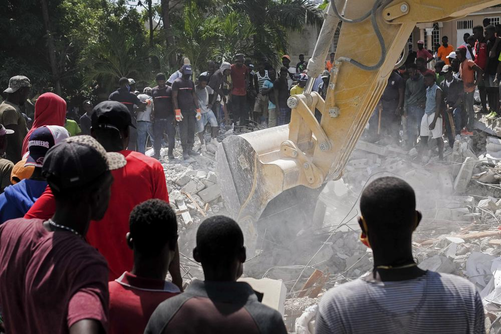 Search for survivors continues after Haiti earthquake