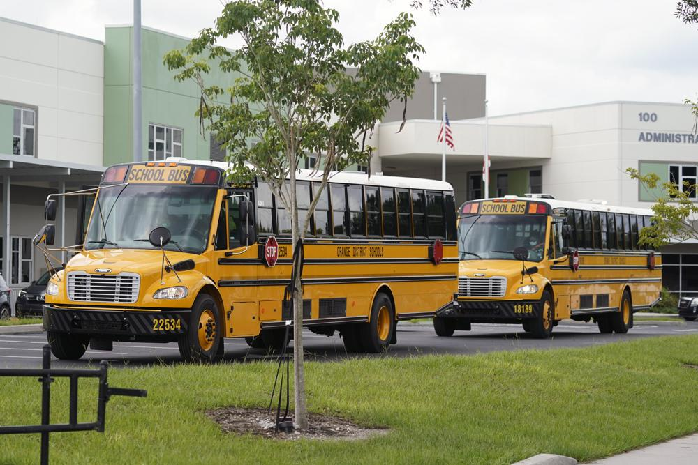 Struggle to find bus drivers in many of Florida's largest school districts