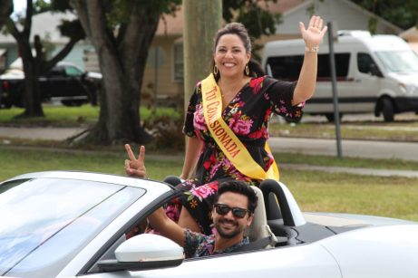 Latin Quarter car parade and Hispanic heritage month festival