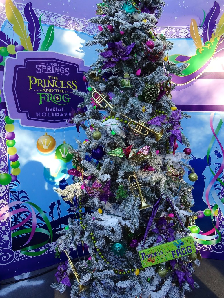 The Princess and the Frog Themed Christmas Tree